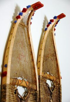 snow shoes wall art