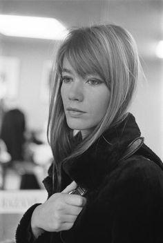 Francoise Hardy in New York City, NY, 1966