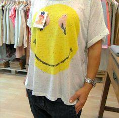 camiseta SMILE de Dear tee Mens Tops, T Shirt, Fashion, Latest Fashion Trends, Urban, T Shirts, Feminine, Women, Supreme T Shirt