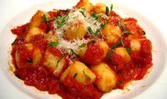 Gluten-Free Gnocchi with Tomato Sauce Recipe