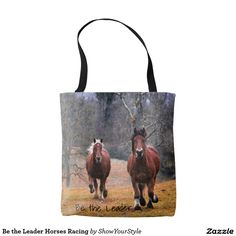 Be the Leader Horses Racing