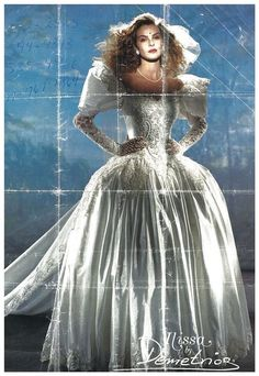 Demetrios 1991 Wedding Dress