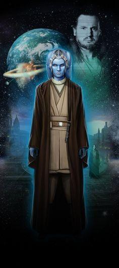 Je viens tout juste de visiter STAR WARS Identités : L'Exposition. Fais connaissance avec mon Héros Star Wars,  Sophie, une Twi'lek chevalière Jedi de Naboo!