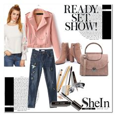 """shein"" by sabine-rose ❤ liked on Polyvore featuring WithChic, Dolce&Gabbana and Bobbi Brown Cosmetics"
