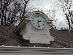 """Lumichron 30"""" diameter illuminated clocks for Merritt Parkway Service Plaza restorations in Connecticut."""