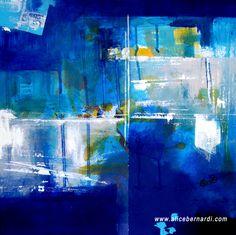 """Featherlight""  acrylic on canvas  40x40 cm    www.alicebernardi.com"