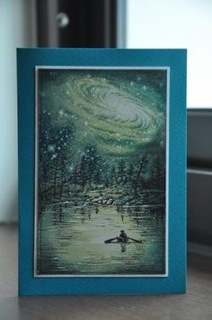 The Green Lake by kitty1wu - Cards and Paper Crafts at Splitcoaststampers