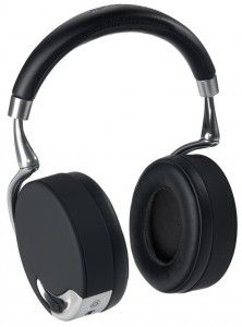 ZIK Parrot by Starck. Looks good, but I actually can't see my headphones when they're on. So how does it sound? Who knows in the age of content-free living?