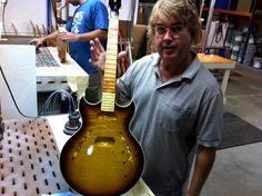 Ausnahmsweise keine Paula #Gibsonguitars #CustomShop #Nashville