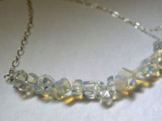 Opalite Chunky Polished Nuggets Strand  by ScorpionMoonDesigns, $52.00