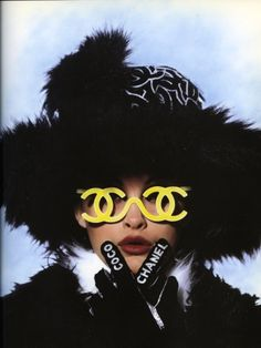 old Chanel Poster.