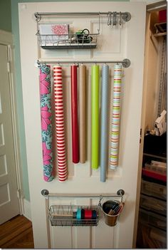 Another way to organize holiday decorations