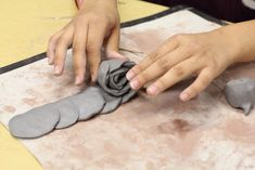 Clay Roses for Mother's Day - such an easy, kid friendly way to make a rose!!!