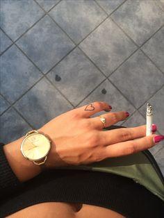#hearttattoo #calvinklein #smalltattoo #smoke