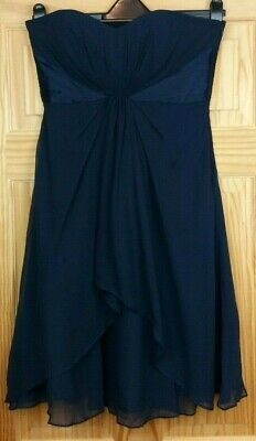 The item shown in the picture is the exact item you will receive! Blue Ball Gowns, Ball Gown Dresses, Strapless Maxi, Silk Dress, Evening Dresses, Size 12, Fashion, Fitted Prom Dresses, Silk Gown