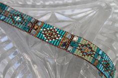 Handmade Artisan Beadwork Bracelet Sundance by DancingDogStudio, $120.00