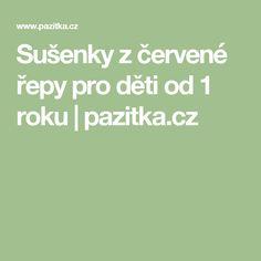 Sušenky z červené řepy pro děti od 1 roku   pazitka.cz