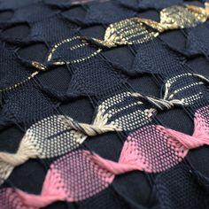 Marijke Arkley | LUS | cotton + metallic