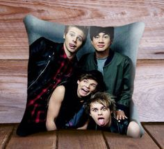 5SOS 5 Seconds of Summer Personnel Band Pillow Case - One Side or Two Side Printing on Etsy, $13.00
