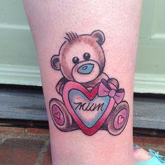 by Amy Tenenbaum, email: amytenenbaumtattoos@gmail.com for bookings and enquiries ✨ #tattoo #tattoos #tat #ink #inked #bear #metoyoubear #beartattoo #love #loveheart #hearttattoo #mum #tattooed #tattooist #art #design #instaart #instagood #legtattoo #ankletattoo #tatted #instatattoo #bodyart #tatts #tats #inkedup #girlytrad #tattooart #cute #kawaii