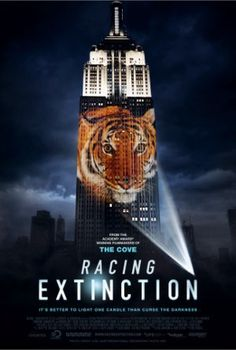 The man helps ensure that half of all species on Earth is threatened. Racing extinction makes us aware of our actions and the massive consequences for the endangered species.