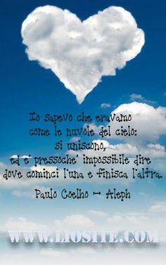 Paulo Coelho - Io sapevo che .. ..dove cominci l'una e finisca l'altra... Anime innamorate ✿♥‿♥✿ #PauloCoelho, #Aleph, #amore, #liosite, #citazioniItaliane, #frasibelle, #ItalianQuotes, #Sensodellavita, #perledisaggezza, #perledacondividere, #GraphTag, #ImmaginiParlanti, #citazionifotografiche,