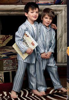 dolce & gabbana, striped pyjamas for boys