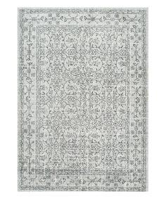 Look at this #zulilyfind! Gray Vintage Waddell Rug by nuLOOM #zulilyfinds