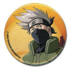 Department is Clothing, Jewelry, Button/Brooch. Primary color is Orange. Publisher is GE Animation. Series is Naruto Kakashi, Naruto, Anime Merchandise, Primary Colors, Animation, Buttons, Cool Stuff, Clothing, Outfits