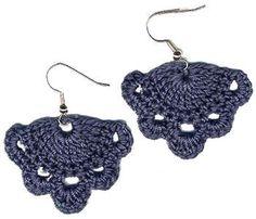 Lovely crochet earrings