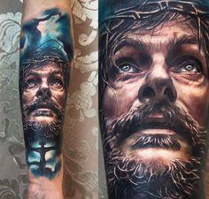 Portraits Tattoo by Charles Huurman | Tattoo No. 12398
