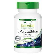 The Product Fairvital - L-Glutathione (Reduced) 250mg - 30 Vegetarian Capsules  Can Be Found At - http://vitamins-minerals-supplements.co.uk/product/fairvital-l-glutathione-reduced-250mg-30-vegetarian-capsules/