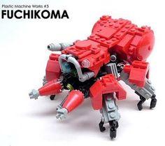 Awesome Fuchikoma from G.I.T.S.