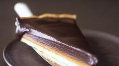 Verführung pur: Die Schokoladentarte mit Karamell <3