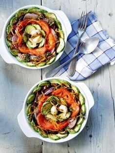 Ψητά λαχανικά με δεντρολίβανο και ξύσμα πορτοκαλιού - www.olivemagazine.gr