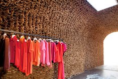 Designed by new york-basedarchitect jeremy barbour of tacklebox arhitecture, 'OWEN', a new boutique which offers a fusion of   emerging designer clothes is about to open in the meatpacking district of new york city. responding to the inherent nature of the industrial space