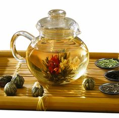 If you've never had much of a green thumb but still love to see flowers bloom, try this gorgeous flowering tea — the tea pods unfurl into exquisite flowers as you steep them in hot water. ($24.99)