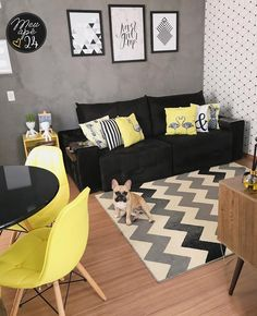 Affordable Apartment Living Room Design Ideas On A Budget ⋆ Home & Garden Design - Decoration For Home Home Living Room, Apartment Living, Interior Design Living Room, Living Room Designs, Living Room Decor, Apartment Ideas, Interior Design Trends, Design Ideas, Living Room Shelves