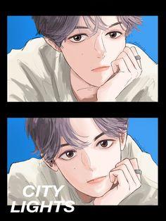 Baekhyun Fanart, Kpop Fanart, Exo Anime, Baekhyun Wallpaper, Exo Fan Art, Kpop Exo, Chanbaek, Aesthetic Anime, Webtoon