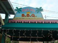 Uncle Joe's BBQ St. John USVI - Best ribs in the world !!!