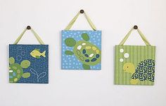 COCALO Baby : Nursery Collections : Turtle Reef Wall Art