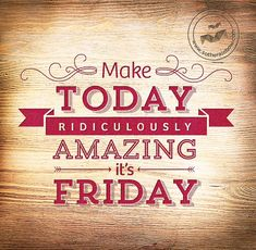 It's #FitnessFriday again, let's make today RIDICULOUSLY AMAZING and start your weekend with a workout!#fitness #tgif