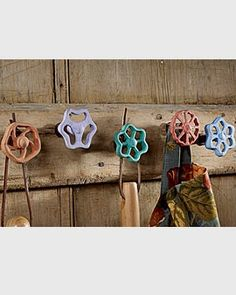Great Hooks - Click image to find more gardening Pinterest pins