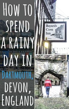 how to spend a rainy day in dartmouth, devon, England- Things to see and do, and where to eat! Devon England, England And Scotland, Travel Guides, Travel Tips, Travel Uk, Travel Europe, London Travel Blog, Dartmouth Devon, Ireland Travel