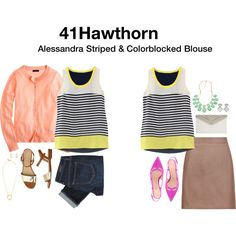"Great for summer boating adventures! #Stitchfix inspiration ""Untitled #6991"" by katrinalake on Polyvore"