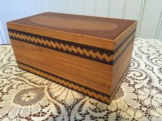 decorative wooden box by WoodWithWow on Etsy