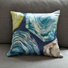2 West Elm agate pillow covers 100% Silk Pillow Covers from West Elm 18x18, set of two. West Elm Other