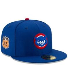 New Era Chicago Cubs Diamond Era Spring Training 59FIFTY Cap - Blue 7  Chicago Cubs Spring 559c8b121