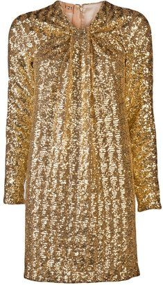ShopStyle: N° 21 Knot Front Sequin Dress