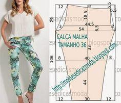 VESTIDO FÁCIL DE FAZER - 55   Moldes Moda por Medida   Bloglovin'
